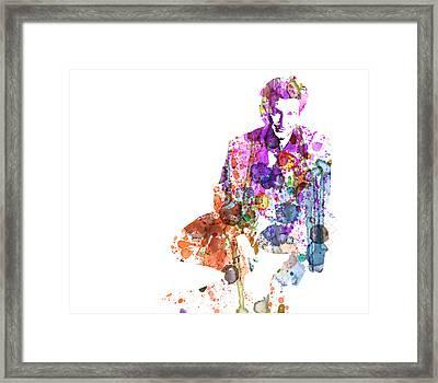 Sean Penn Framed Print by Naxart Studio