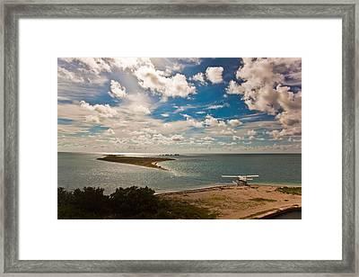 Seaplane Framed Print by Patrick  Flynn