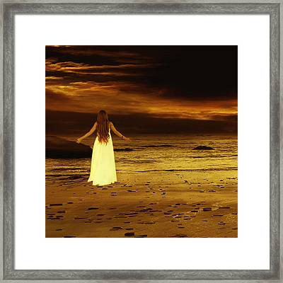 Search For Peace Framed Print