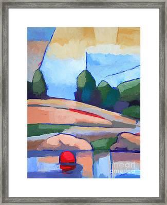 Seascape I Framed Print by Lutz Baar