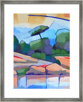 Seascape II Framed Print by Lutz Baar