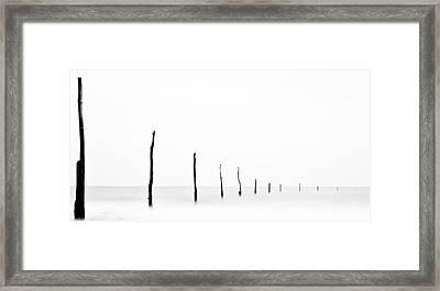 Seascape Framed Print by Photography by Neil Shearer