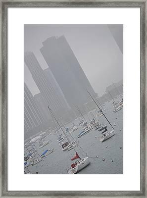 Seascape Framed Print by Rachel Nuest