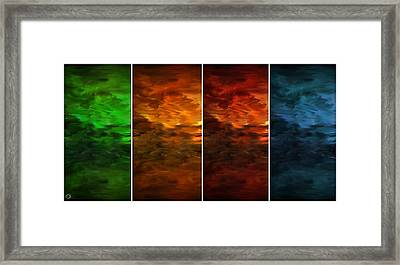 Seasons Change Framed Print by Lourry Legarde