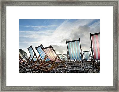 Seasons End Framed Print by Robert Lacy
