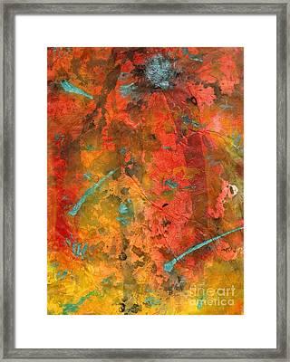Seasons Of Joy Framed Print by Angela L Walker