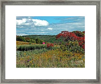 Framed Print featuring the photograph Seasons Rest by Christian Mattison