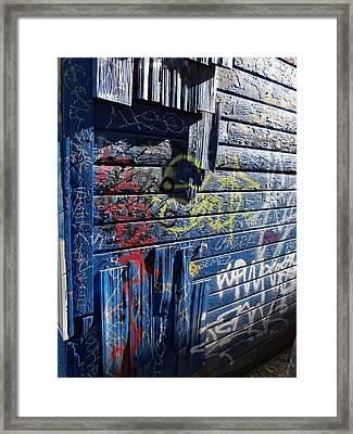 Seattle Graffiti Framed Print by Randall Weidner