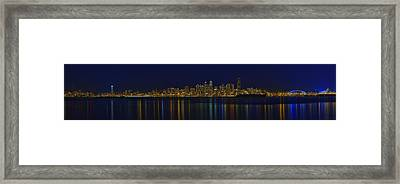 Seattle Moody Blues Framed Print