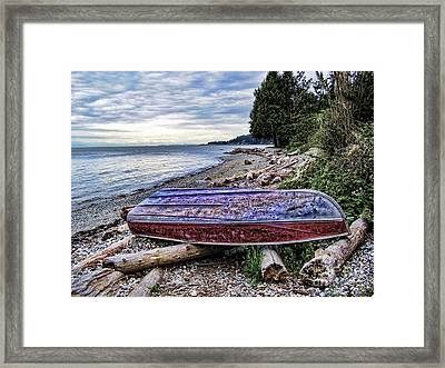 Seaworthy Framed Print by Diana Cox