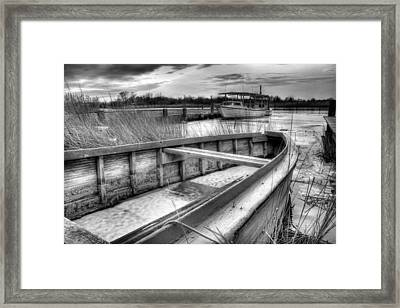 Seaworthy Framed Print by JC Findley