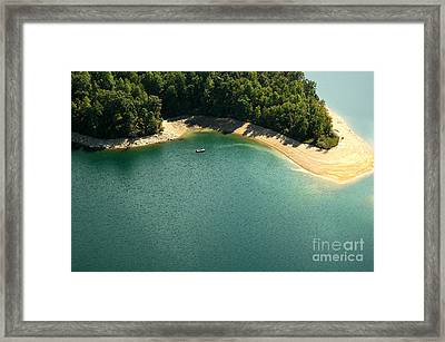 Secluded Fishing Hole Framed Print by Thomas R Fletcher