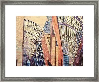 Second In Att Series Framed Print