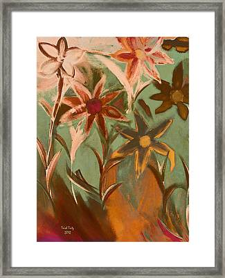 Second In Line Framed Print by Trish Tritz
