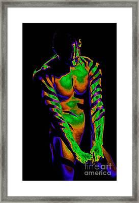 Secondary T Framed Print by Robert D McBain
