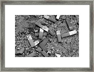Secondhand Smoke Framed Print by Lisa Phillips