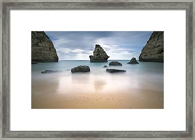 Secret Beach Framed Print by Jorge  Fonseca