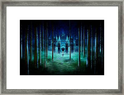 Secret Castle Framed Print
