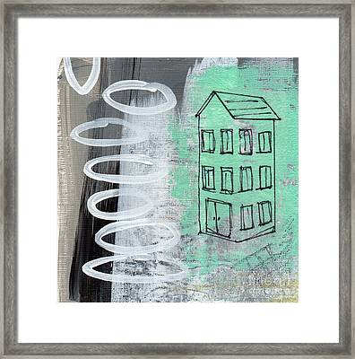 Secret Cottage Framed Print by Linda Woods
