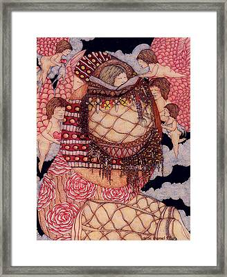Secret Framed Print by Dede Shamel Davalos