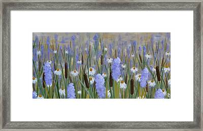 Secret Garden Framed Print by Holly Donohoe