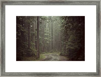 Secret Pathway Framed Print by Christopher Kimmel
