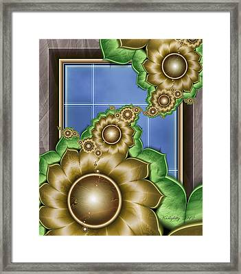 Secret Window Framed Print