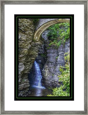 Secrets Of Watkin's Glen Framed Print by Matthew Green
