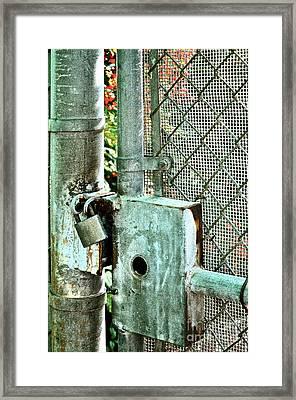 Secure Framed Print by Gwyn Newcombe