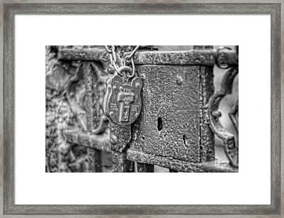 Secured Forever Framed Print