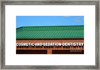 Sedation Framed Print