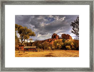 Sedona Framed Print by Marvin Walley