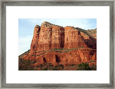 Sedona Red Framed Print