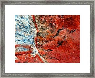 Sedona Red Rock Zen 1 Framed Print