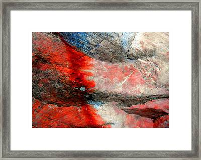 Sedona Red Rock Zen 2 Framed Print by Peter Cutler