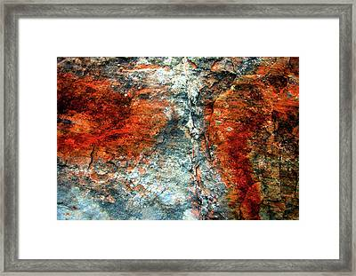 Sedona Red Rock Zen 3 Framed Print