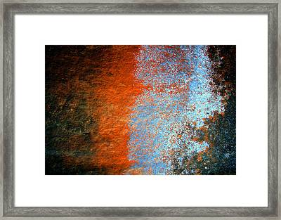 Sedona Red Rock Zen 51 Framed Print