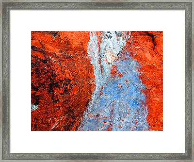 Sedona Red Rock Zen 70 Framed Print