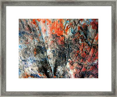 Sedona Red Rock Zen 72 Framed Print