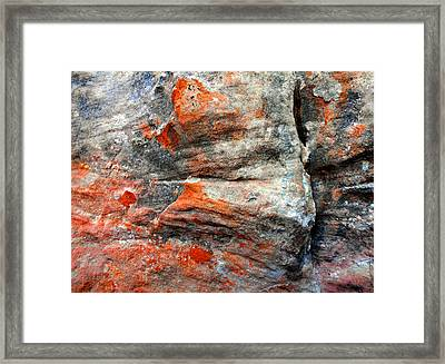Sedona Red Rock Zen 73 Framed Print