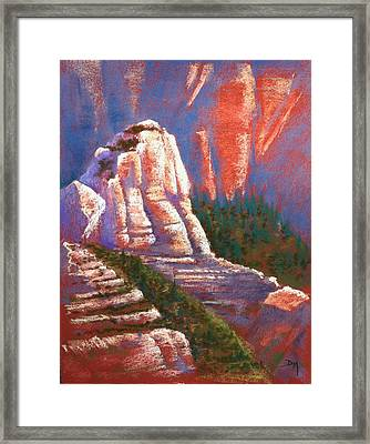 Sedona Rock Framed Print