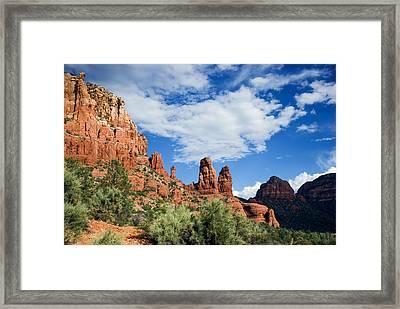 Sedona Vista Framed Print by Anthony Citro
