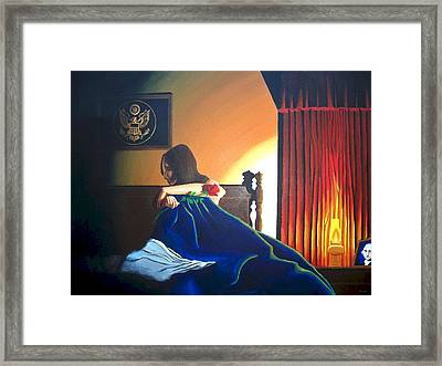 Seduced Framed Print by Hershel Kysar