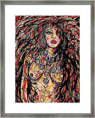 Seductress Framed Print