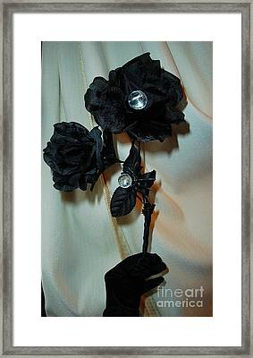 See Into Darkness's Beauty Framed Print by Jozy Me