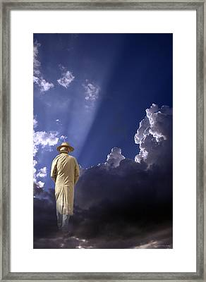 See You Again - 2 Framed Print by Larry Mulvehill