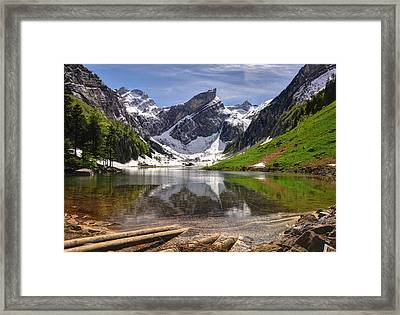 Seealpsee Framed Print by Ceca Photography