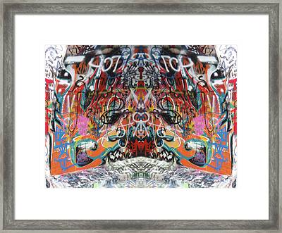 Seeing Double Framed Print by Cindy Nunn