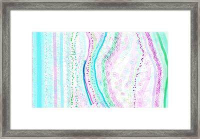 Seeking Framed Print by Rosana Ortiz