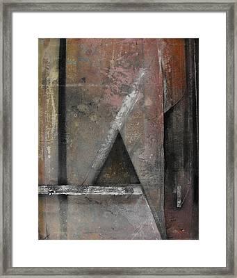 Seem  Seam Framed Print by Ralph Levesque
